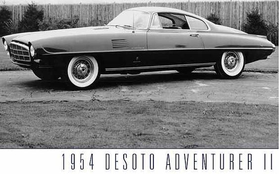 The design was inspired by Virgil Exner but he gave credit to Luigi Segre and Giovanni Savonuzzi of Ghia