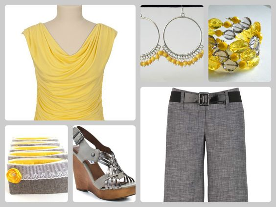 Did I mention I like grey and yellow?  Well now you know.