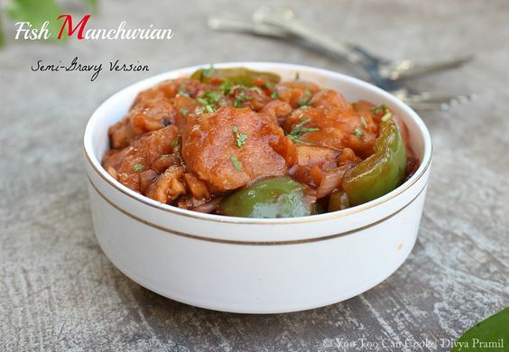 Fish Manchurian | Fish In Manchurian Sauce | Indo Chinese Recipes