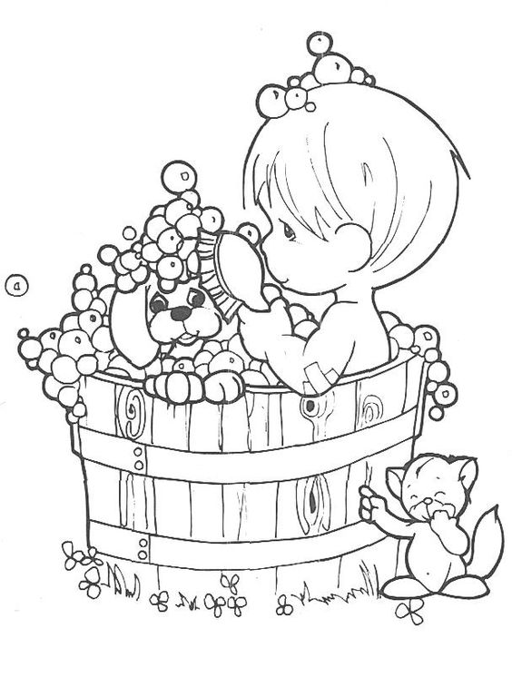 Precious Moments Coloring Pages Coloring Pages Pinterest Coloring Copies