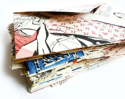 Envelope de revistas, coisa linda. + from... - imagens escritos recordações