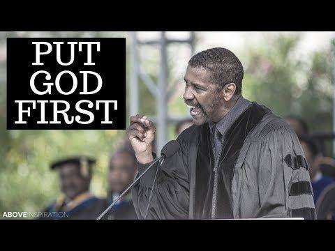 Denzel Washington In Delivering The Commencement Speech At Dillard University Academy Award Winning Actor De God First Denzel Washington Motivational Speeches