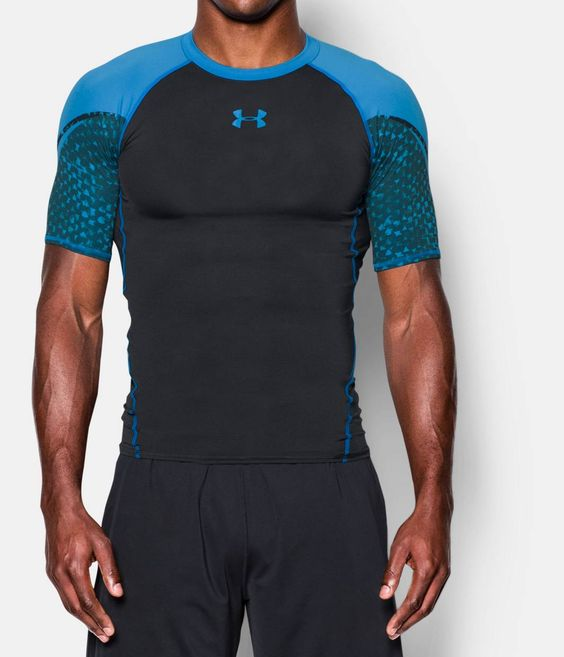 Men's UA HeatGear® Armour Scope Short Sleeve Compression Shirt | Under Armour US