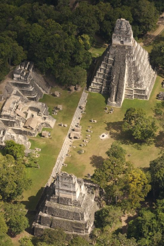 Mayan ruins, Tikal, Guatemala - Babylonish worship and construction of temples spread around the world. It has influenced even Christendom's teachings to a large degree.