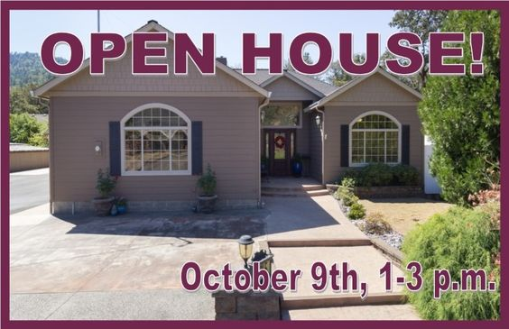 You're Invited! Join us for an OPEN HOUSE Sunday, October 9th from 1-3 p.m. at 745 Page Rd, Winchester OR. http://www.roseburgproperties.com/Property/745-PAGE-RD-Winchester-Oregon #RoseburgOROpenHouse #RoseburgORReal Estate