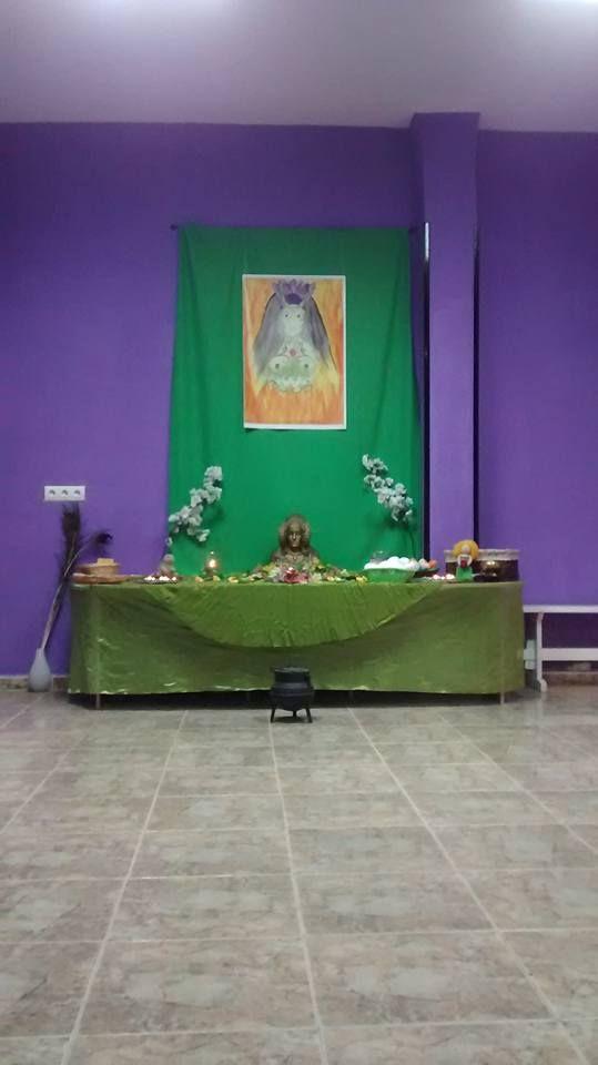 Altar de Ostara 2016