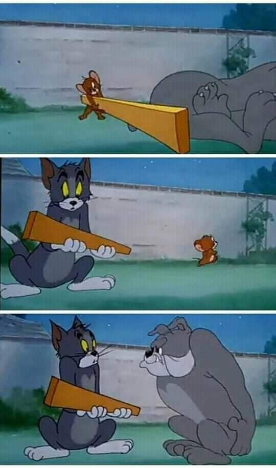Tom And Jerry Meme Template History Memes Cartoon Memes