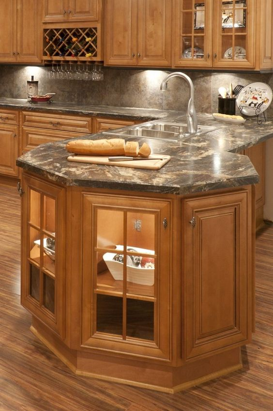 Different Shapes Very Interesting And Kitchen Cabinets On