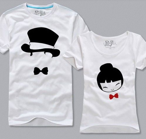 Couple shirt 2 shirt printing pinterest shirts for Couple printed t shirts india