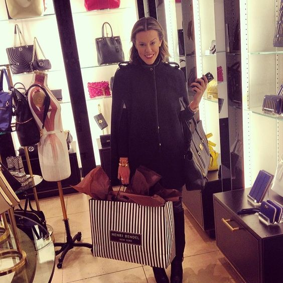 Had a blast shopping with @thecourtneykerr at our flagship this afternoon #HBlovesCourtney