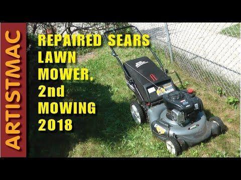 Repaired Lawn Mower 2018 2nd Mowing Mowing Lawn Mower Mower