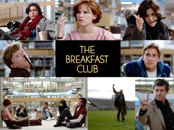 I know I am cheesehead for saying this, but I had a movie crush on Molly Ringwald, even if she did play the same girl in each of these movies.