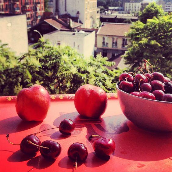 Cherry Smile :-) Sweet kwisine, alpes, grenoble, annecy, belledonne, savoie, vercors, chartreuse