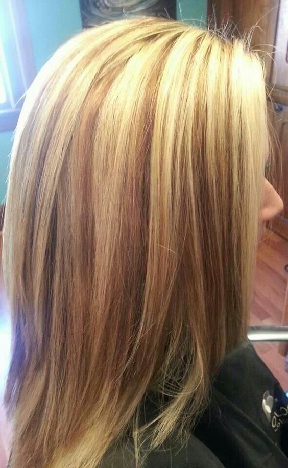 Love This Light Blonde Base With Carmel Lowlights Hair