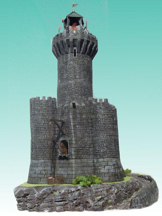 Deception's Tower - wargame terrain
