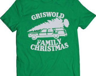 Funny Grisworld Family Christmas Tshirt Youth Kids Gift F you T-shirt Tee Shirt Mens Holiday Father Christmas Mens Gift T-shirt Tee Shirt