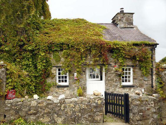 English Cottage ~ Dutch Door: