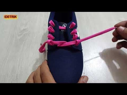 3 Cara Mengikat Tali Sepatu Yang Unik Dan Keren Youtube Sepatu