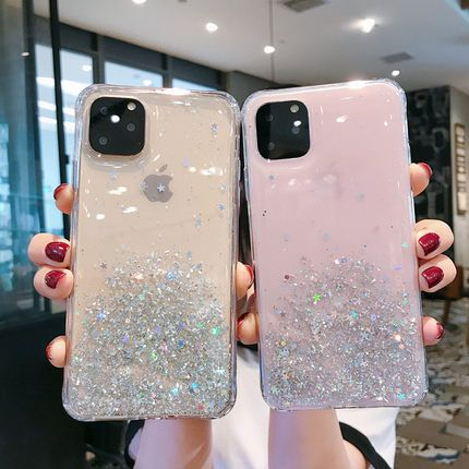 Liquid Quicksand Bling Glitter Transparent For Apple Iphone 11 Case Case Pink Phone Cases Apple Phone Case Iphone Transparent Case