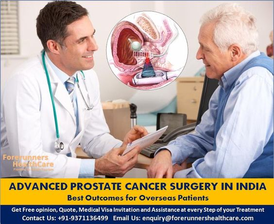 Advanced Prostate Cancer Surgery in India