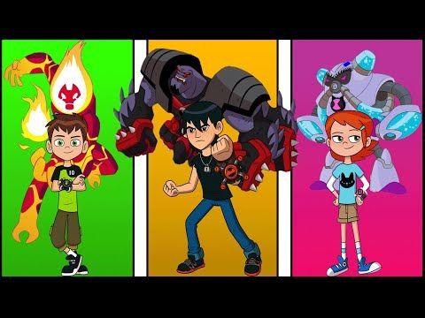 فضائيين غوين ضد فضائيين بن تن ريبوت ضد فضائيين كيفن لاول مره لا يفوتك Youtube In 2021 Family Guy Fictional Characters Character