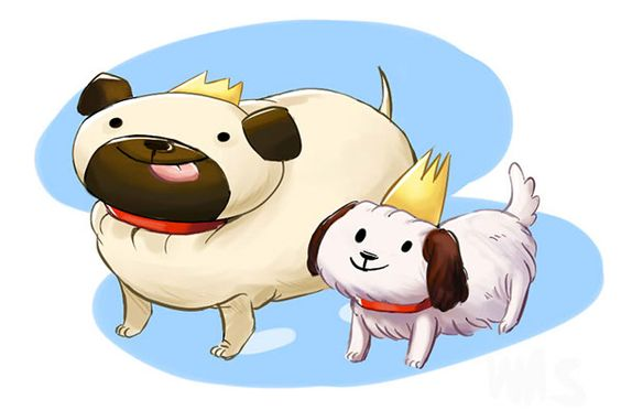Image result for dog queen clipart