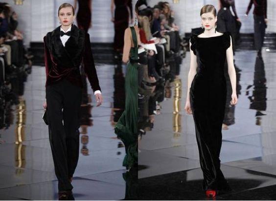 Coleção outono inverno 2012 da grife Ralph Lauren para a moda feminina