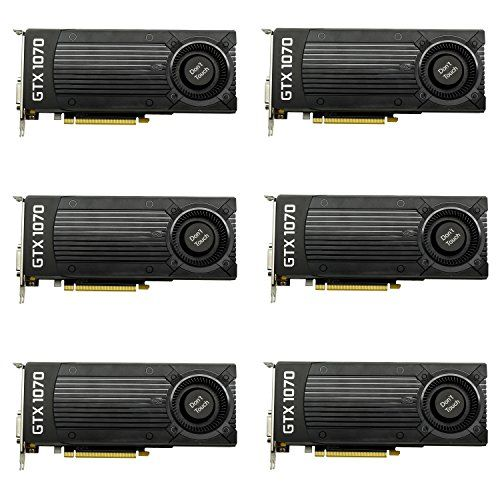 6 Packs Of Nvidia Geforce Gtx 1070 8gb Gddr5 Samsung Memory Graphics Cards Oem Graphic Card Architecture Graphics Environmental Graphics
