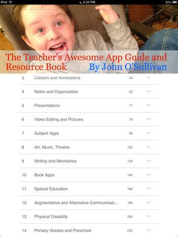 FREE Teacher's Awesome #App_Guide & Resource Book pick very best #apps 4 teachers #ipaded #mlearning #slide2learn   You can click on countless videos of app...