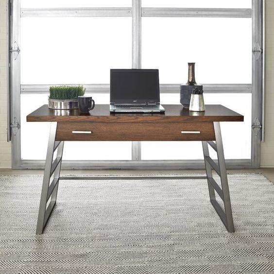 Alaina Desk In 2020 Furniture Design Modern Wood Desk Desk