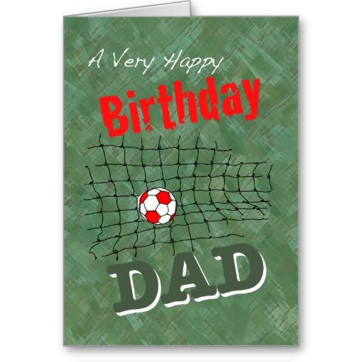 Football Card for Dad