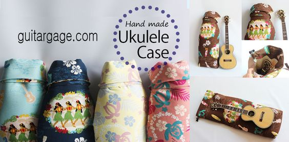 Hand Made Ukulele Case (Made in Japan) /guitargage.com/ etsy.com/