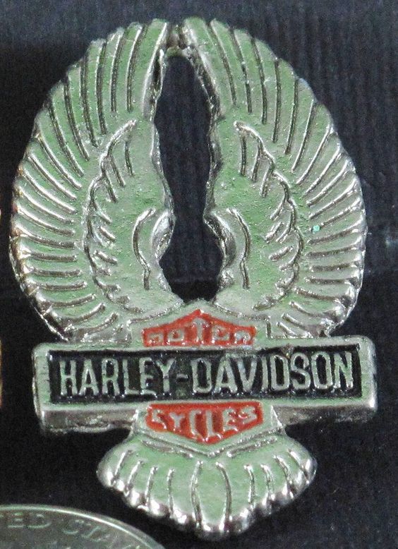 Pin #Harley-Davidson #Wings  #SILVER TONE,  View more on the LINK: 	http://www.zeppy.io/product/gb/3/74794961/