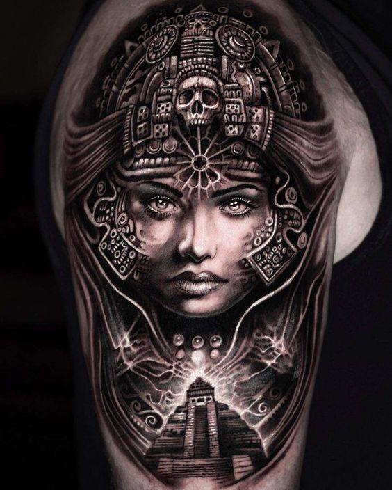 Aztec Warrior Tattoo Designs : aztec, warrior, tattoo, designs, Scandinavian, Images, Mumia's, Tattoos, Aztec, Tattoo,, Mayan, Tattoos,, Sleeve