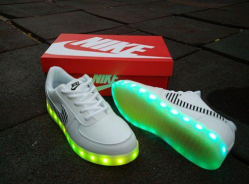 nike air force led light