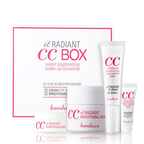 Banila Co. CC Cream Brightening Set, $50, available at Soko Glam: This CC cream is apparently one of the bestselling ones in Korea, so obviously you have to have this, as well as the cleanser.