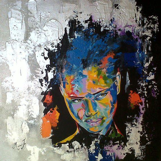 peinture sur toile acrylique peinture pinterest toile