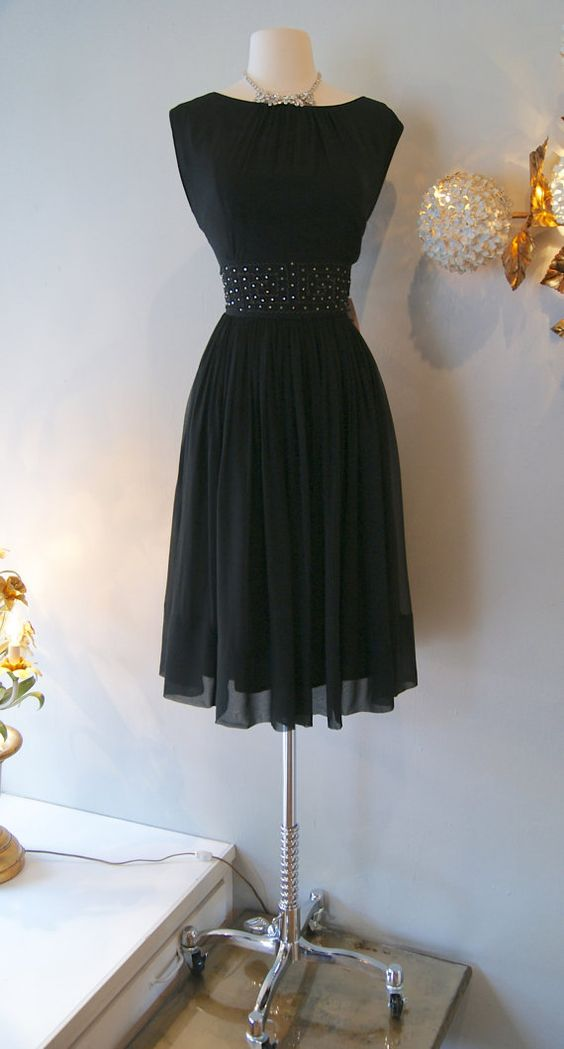 1960s Dress // Vintage 60's Leslie Fay Hollywood by xtabayvintage, $225.00