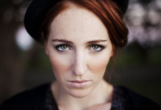 that red hair and those green eyes! via gentlemen take pictures