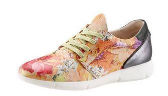I´m walking Schnürer mit modischem Blumenprint