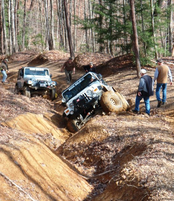4-Wheeling The Coal Creek Trails For The Jeep Jamboree