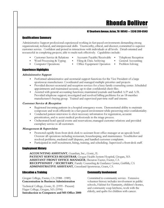 Resume examples wwwsamples-resume 2010 08 resume - lab manager resume