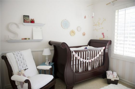 Real Rooms : Plush and Elegant Baby Girl