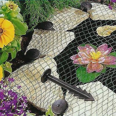 Pond cover net garden koi fish pond pool netting heron for Koi pond cover