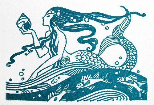 Animalarium: La SirenaMarie A. Lawson from The Enchanted Castle, 1935, thanks to art.crazed.