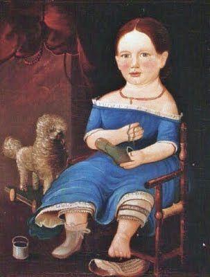 19th-century American Women: American Artist William Matthew Prior 1806-1873 (Prior-Hamblin School):