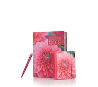 517363 Richard Jackson Gardeners Diary Notepad Pen Qvc Price
