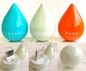 water resistant 'drop' iPod & MP3; player, speaker $47.89