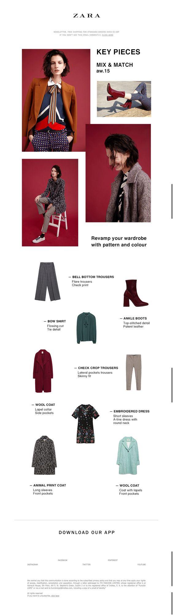 zara fashion email