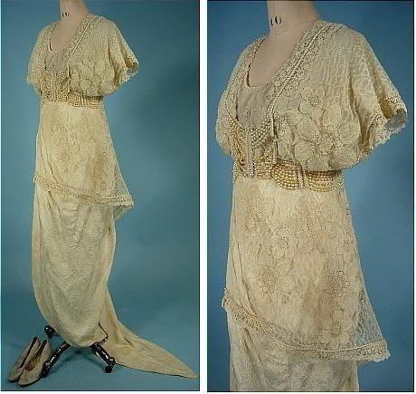 Свадебные платья xix века